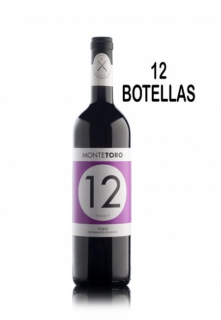 MONTETORO RESERVA 12 BOTELLAS