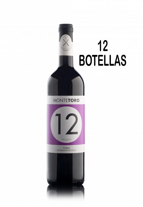 MONTETORO RESERVA 12 BOTELLAS…